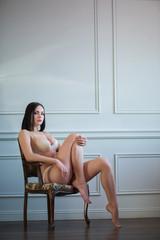 Naked beautiful and sexy lady