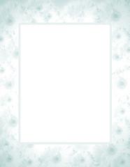 Briefpapier Margarete Blau