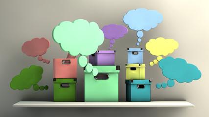 cajas imaginativas