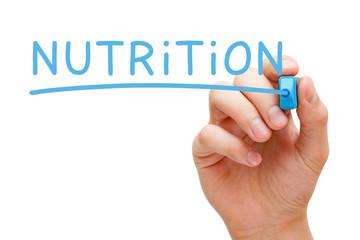 Nutrition Blue Marker