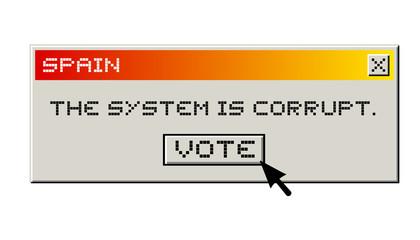 Vote no corrupt
