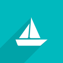 yacht web icon