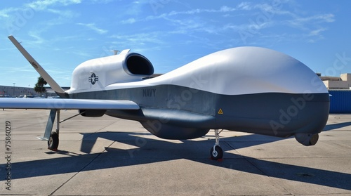 Plexiglas Vliegtuig Air Force Spy Drone