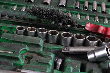Old Tools. Autotool set