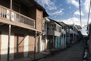 Traditionelle Holzhäuser, Jacmel, Haiti