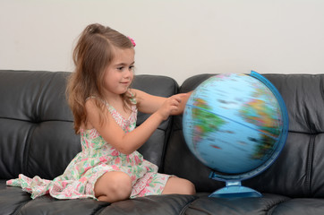 Child Search and Examining the Globe