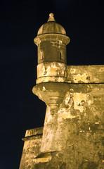 Spanish Sentinel at El Morro Puerto Rico