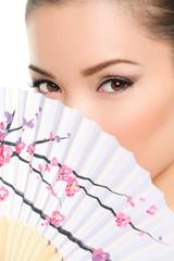 Asian beauty - seductive eyes woman