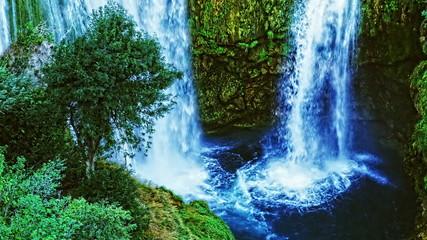 Manojlovac waterfall close-up