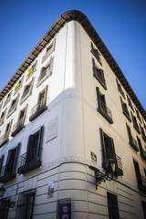 oldest street in the capital of Spain, the city of Madrid, its a
