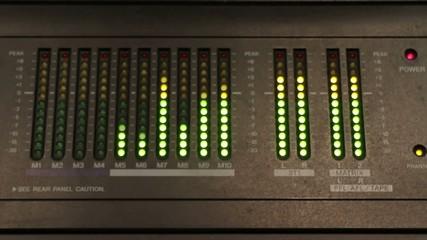 audio levels measure motion shift focus