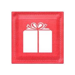 Red button - icon - mesh skin