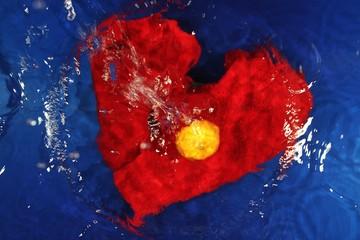 abstrakte Kunst - Stillleben - Wasser