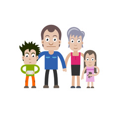 cartoon family, famille 2015_01