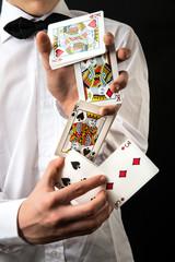 abilità con le carte da gioco