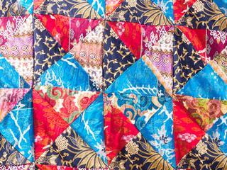 Patchwork blanket seamless texture