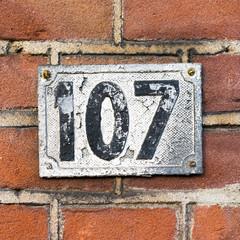 Number 107