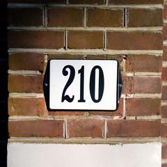 Number 210