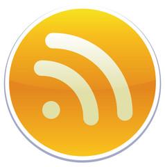 RSS icon sticker