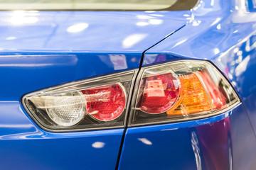 Car Taillight Closeup