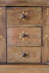 Drawers background-vecchia cassettiera