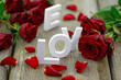 canvas print picture - Valentinstag