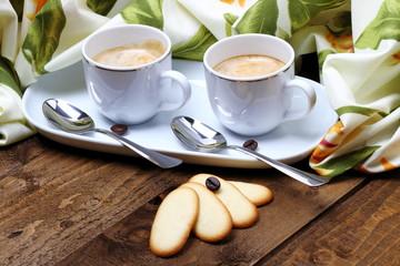 Caffè espresso per due