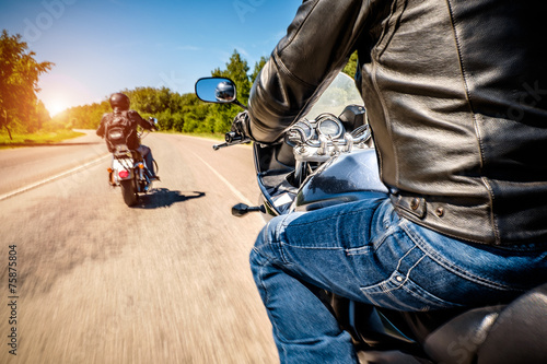 Bikers First-person view - 75875804