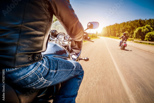 Bikers First-person view - 75875805