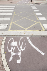 Ride a bike lane