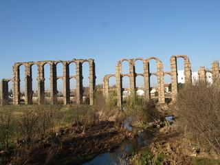 Acueducto romano en Mérida 3