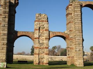 Acueducto romano en Mérida 6