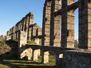 Acueducto romano en Mérida 11