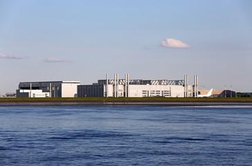 Airbus-Werk in Hamburg