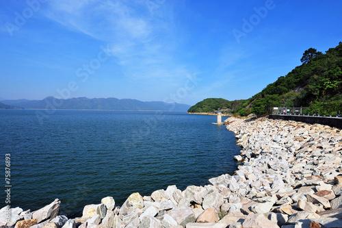 Foto op Plexiglas Kanaal Plover Cove Reservoir