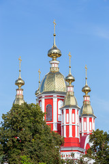 Russia. Tambov. Church of St. John the Baptist of Kazan Monaster