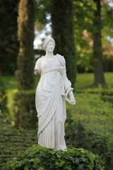 Antique  marble sculpture Women