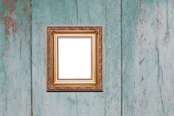 Vintage frame with empty space inside