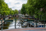 Amsterdam, byke parking over the canal.