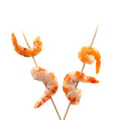 Grilled shrimps