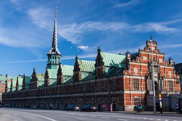 The Stock Exchange (Borsen) in Copenhagen, Denmark.