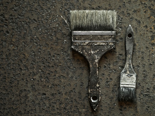 Old brushes