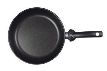 frying pan isolated over white background