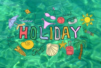 Summer holiday vacation concept
