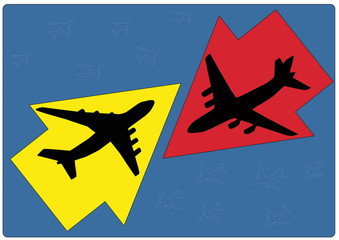 Two planes movement