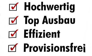 Immobilienwerbung