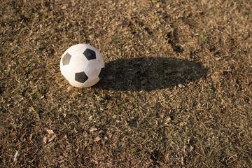 汚れたサッカーボール