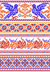 National Russian patterns