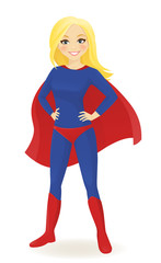 Super hero woman