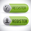 register button design